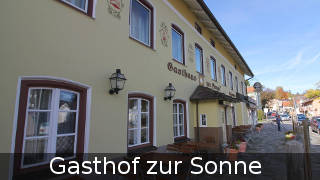 Hotel Pension Gasthof Sonne in Starnberg am Starnberger See